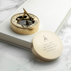 Iconic Adventurer's Sundial Compass