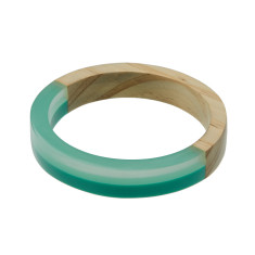 Circles in the sky bangle (various colours)