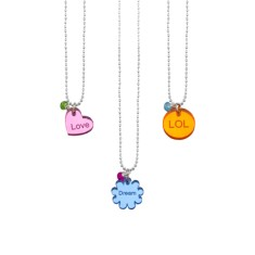 Love, dream or LOL necklace