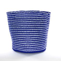 Nala woven basket in navy