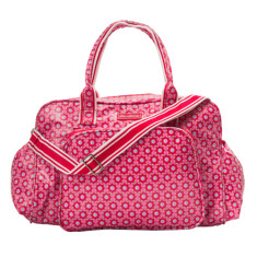 Nappy/Diaper Bag - Laminated Cotton in Beatrice Print