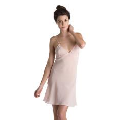 Silk Nightie - Blush Pink