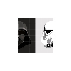 IXXI Star Wars darth vader/stormtrooper reversible wall art (multiple sizes)