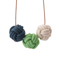 Vancouver nautical knot necklace
