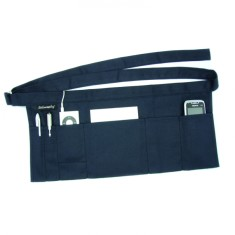 Wrapbag in French navy canvas