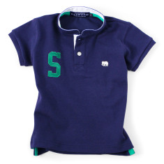 The Sea Dog - personalised navy polo