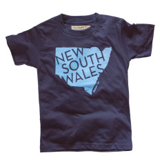 New South Wales vintage t-shirt in navy
