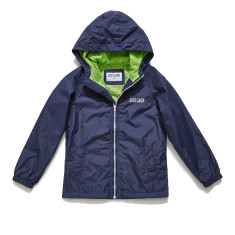 Boys navy windcheater jacket