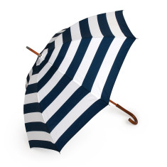 Umbrella in navy stripe