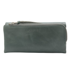 Trifold Leather wallet in various colours