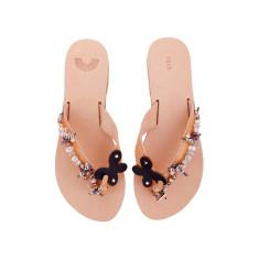 Amaryllis handmade embellished sandals