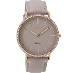 Slimline crystal watch (various colours)