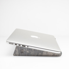 Recycled skateboard wooden laptop macbook stand