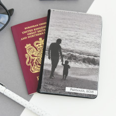 Personalised Photograph Passport Cover