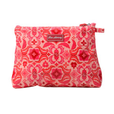 Large cosmetic, clutch or nappy bag in Isabella print