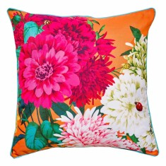 Bella Rosa tangerine cushion