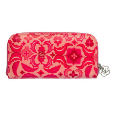 Zip wallet in Isabella print