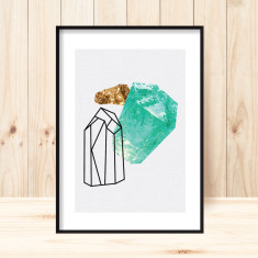 Gemstones1 art print