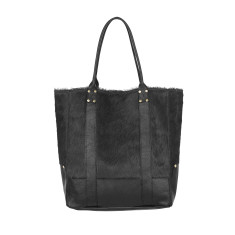 Lupe tote in negro