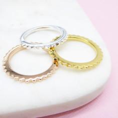 Mini Stud Eternity Ring (various colours)