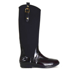 Neo halo shine rubber wellies