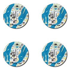 New York mini trays or coasters