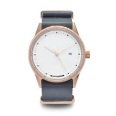 Hypergrand maverick watch in grey leather