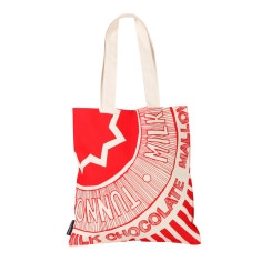 Tunnock's teacake wrapper tote bag