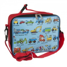 Tyrrell Katz Working Wheels insulated lunch bag