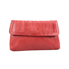 New York clutch in cherry