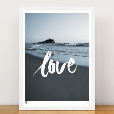 Love Newcastle limited edition print
