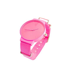 Leonora watch in hot pink