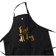 Wine Lover Apron - Rose all Day