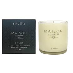 Maison Lumiére Cassis - Blackcurrent & Rose Candle / Noir de Cassis et Roses Bougie Parfum