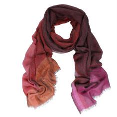 Cooper yarn dye check wool scarf (4 colours)