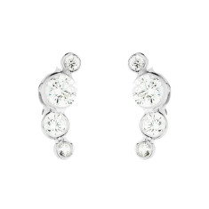 Dotty studs in silver
