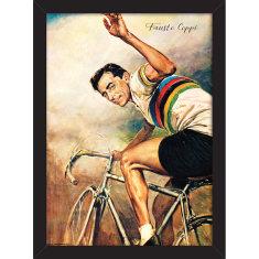 Fausto Coppi Waving Print