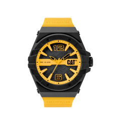 CAT Spirit series watch in black & yellow