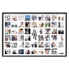 Personalised Photo Print with Date - LANDSCAPE