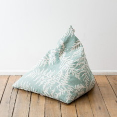 Pyramini floor cushion in bracken