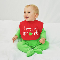 Little Sprout Baby Christmas Bib