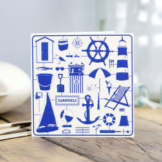 Nicely nautical greeting card (pack of 6)