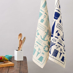 Nicely nautical tea towel
