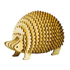 Wooden Puzzle - Hedgehog