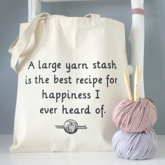 Jane Austen knitting bag