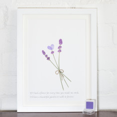 Mother's Day Lavender print (BUY 1 GET 1 FREE)