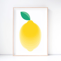Eureka Lemon Art Print