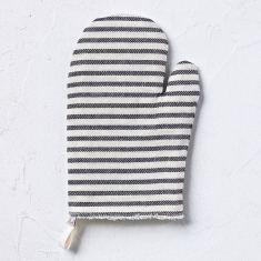 Oven Glove - Melograno in black
