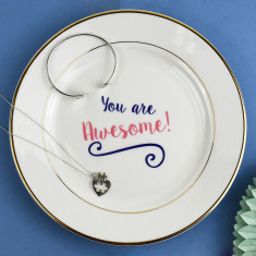You Are Awesome Jewellery Trinket Dish