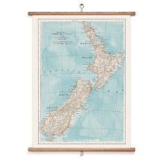 Map of New Zealand Wall Hanging